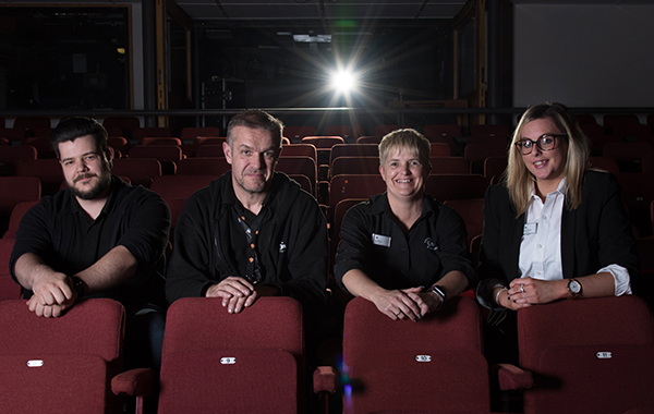 Theatr Brycheiniog – the front of house team
