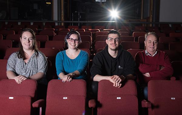 Theatr Brycheiniog – the box office team